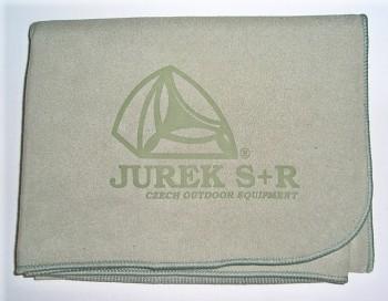 Multifunkční ručník JUREK M (48x90) zelený