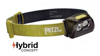 Čelovka PETZL ACTIK Hybrid - zelená 300 lms