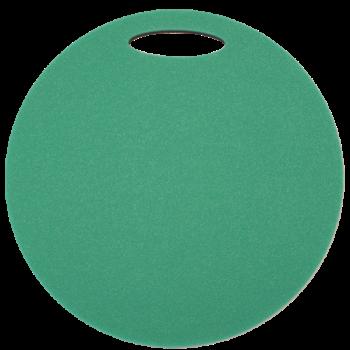 Sedátko YATE kulaté dvouvrstvé 35 mm zelenočerné