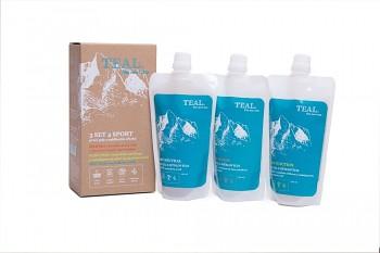 Sada pracích gelů TEAL Sport Set 3 x 250 ml