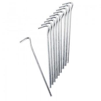 Stanový kolík - ocelový 18,5 cm