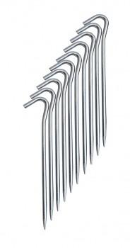 Stanový kolík - duralový 18,5 cm
